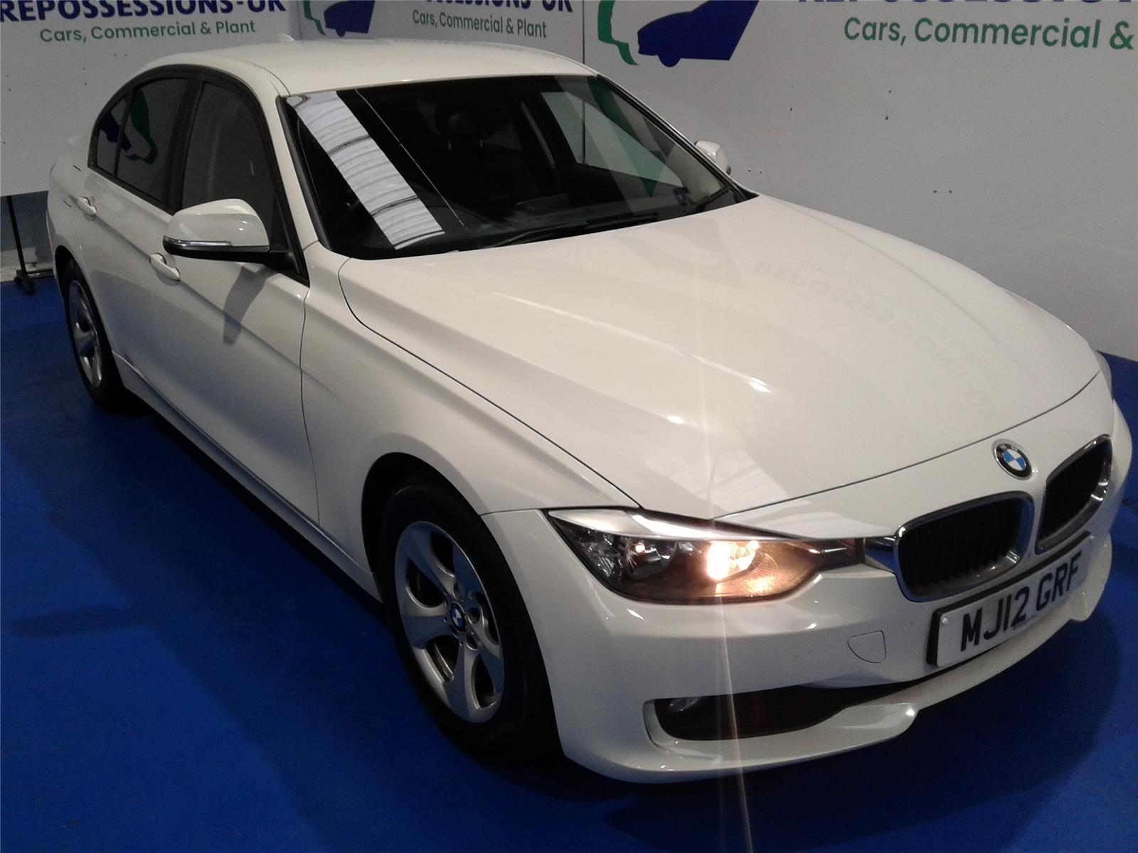 2012 BMW 3 SERIES 320D EFFICIENTDYNAMICS 1995 DIESEL AUTOMATIC 8 Speed 4 DOOR SALOON