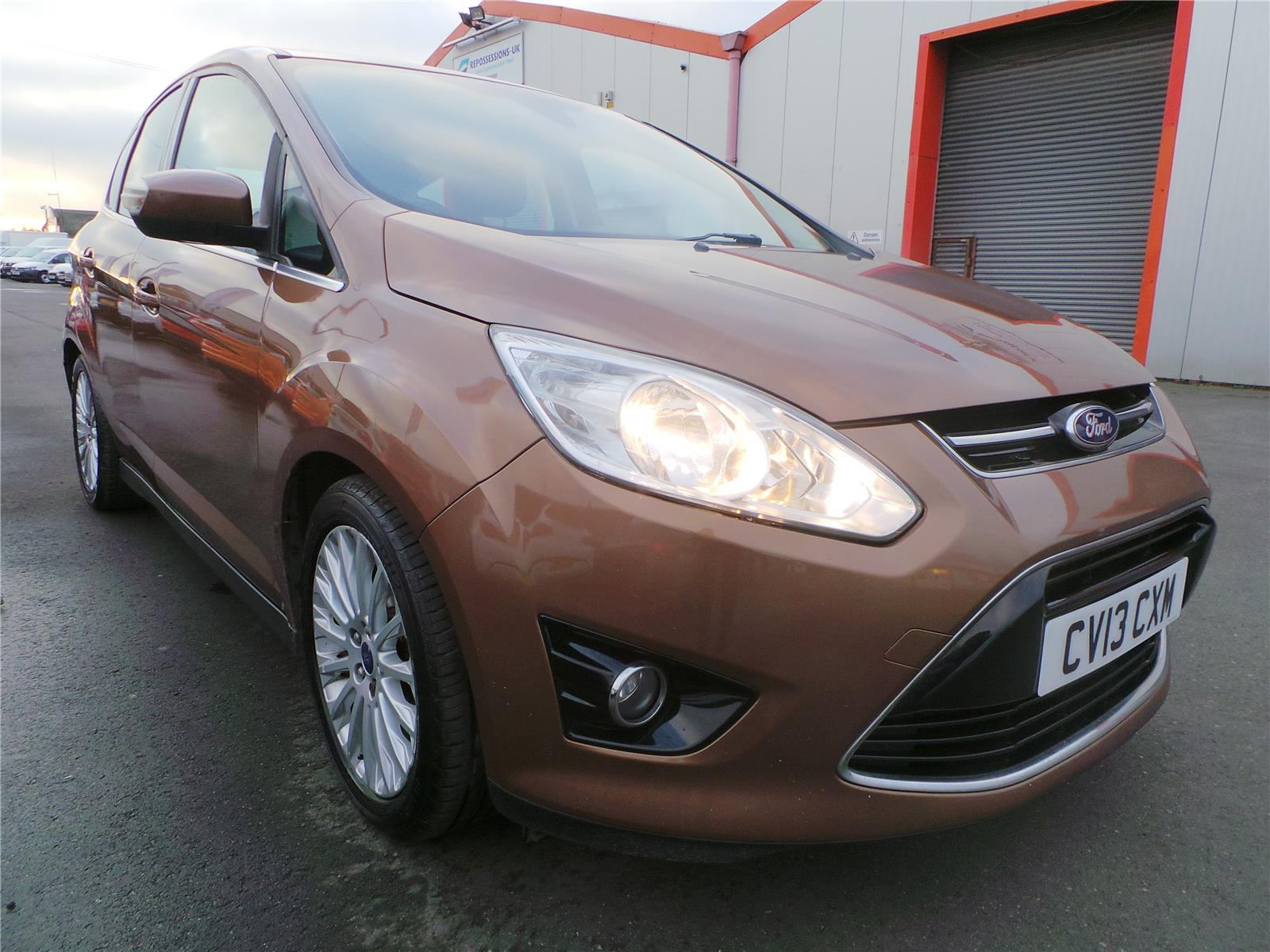 2013 FORD C-MAX TITANIUM TDCI 1560 DIESEL MANUAL 6 Speed 5 DOOR MPV