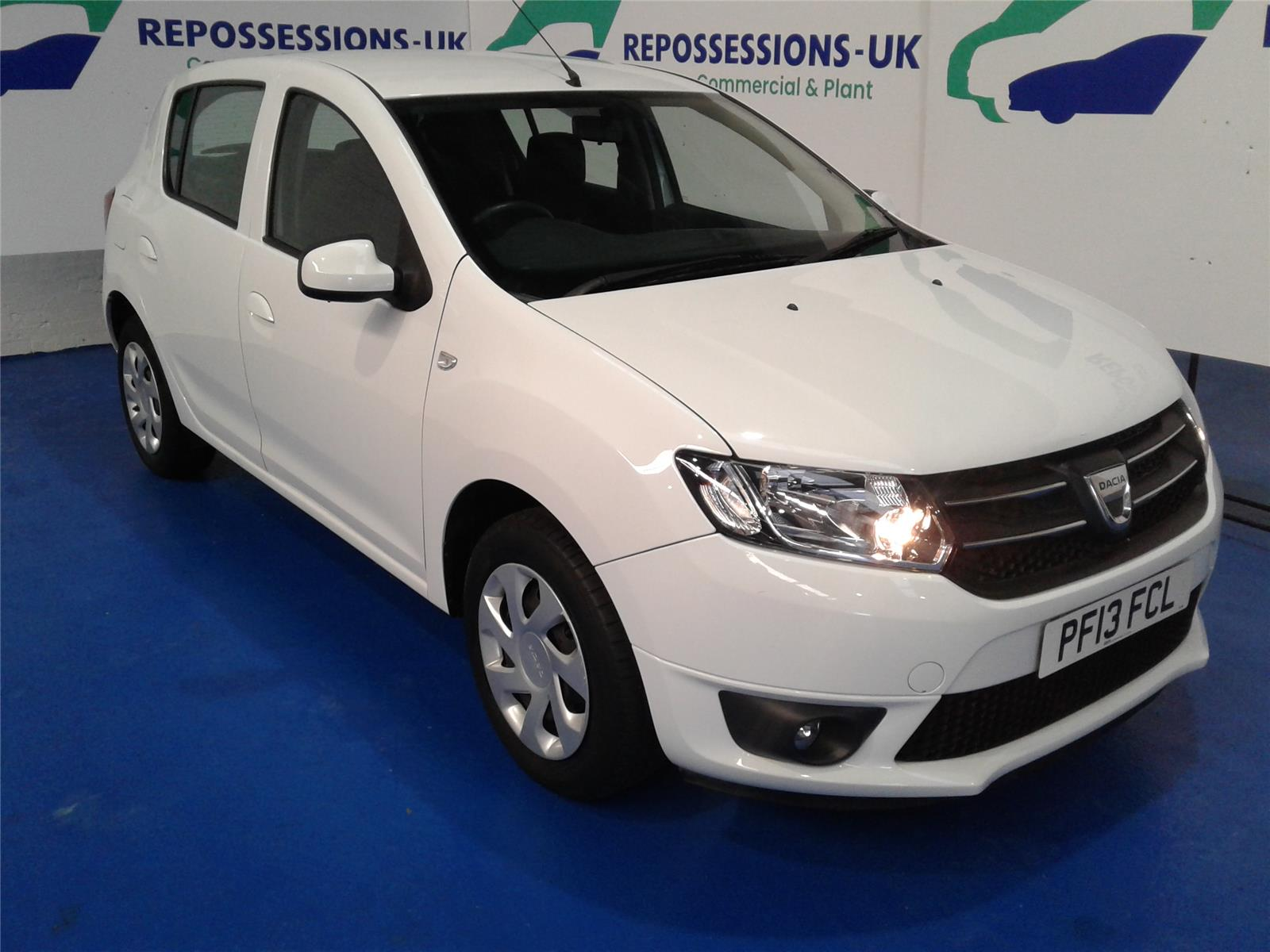 2013 DACIA SANDERO LAUREATE TCE 898 PETROL MANUAL 5 Speed 5 DOOR HATCHBACK