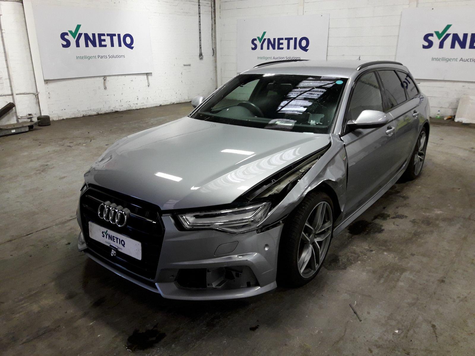 Synetiq 2017 Audi A6 Mk4 Fl 4g C7 2011 On Avant Tdi Ultra S Line Black E 5 Door Estate Diesel Semi Auto Breaking For Used And Spare Parts