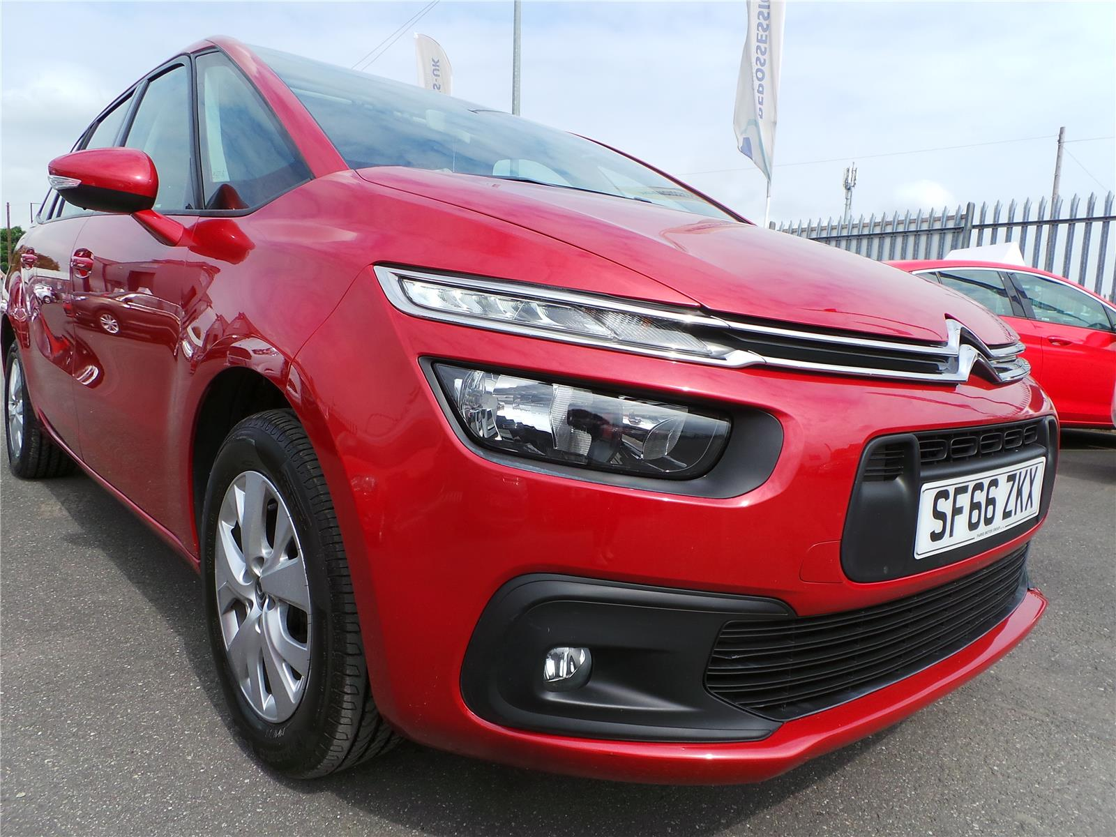 2017 CITROEN C4 PICASSO GRAND BLUEHDI TOUCH EDITION S/ 1560 DIESEL AUTOMATIC 6 Speed 5 DOOR MPV
