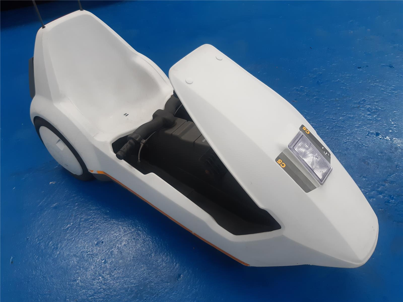 1985 SINCLAIR CAR ELECTRIC   MOPED