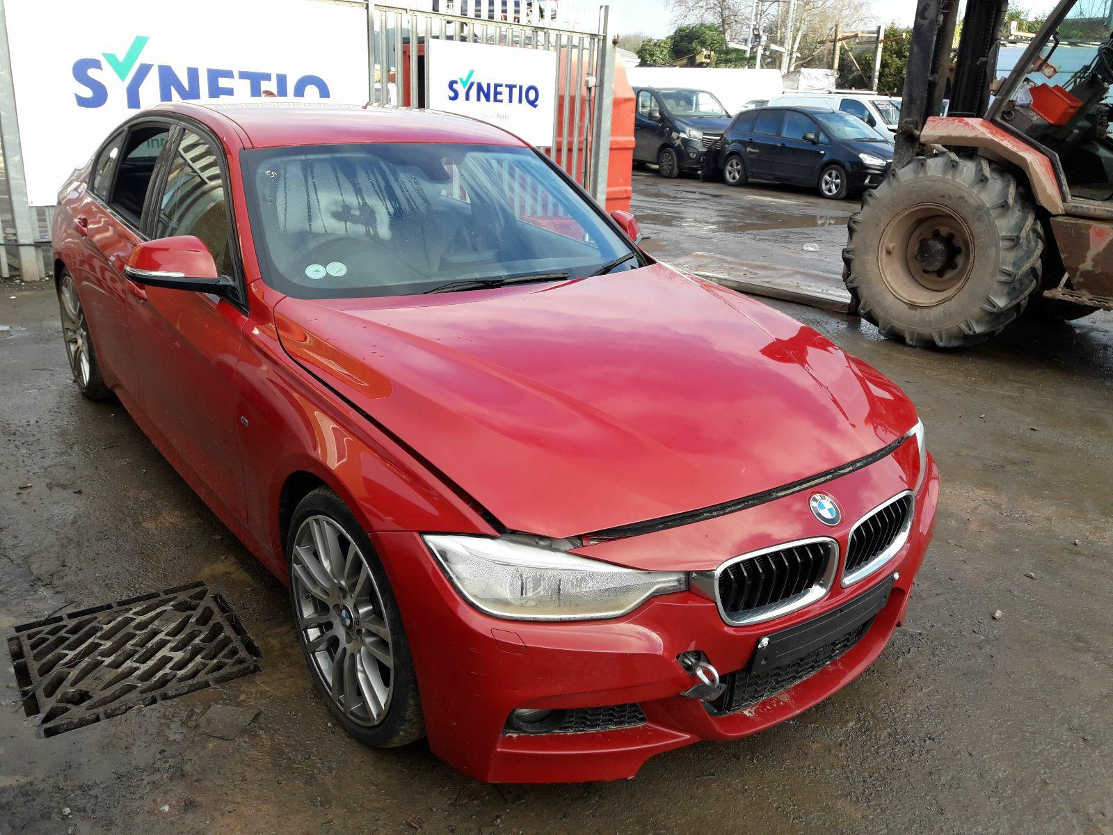 Synetiq 2015 Bmw 3 Series F30 2012 To 2018 320d M Sport 4 Door Saloon Diesel Automatic Breaking For Used And Spare Parts