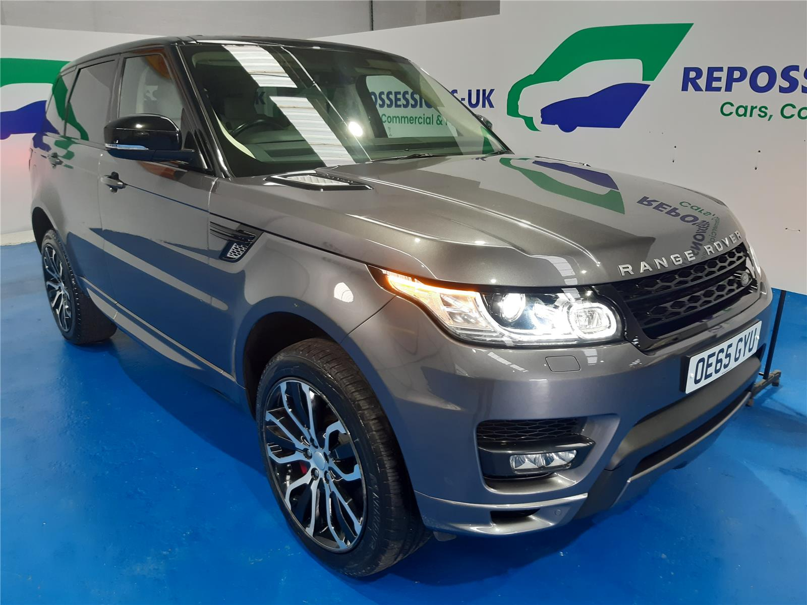 2015 LAND ROVER RANGE ROVER SPORT SDV6 AUTOBIOGRAPHY DYNAMIC 2993 DIESEL AUTOMATIC 8 Speed 5 DOOR ESTATE