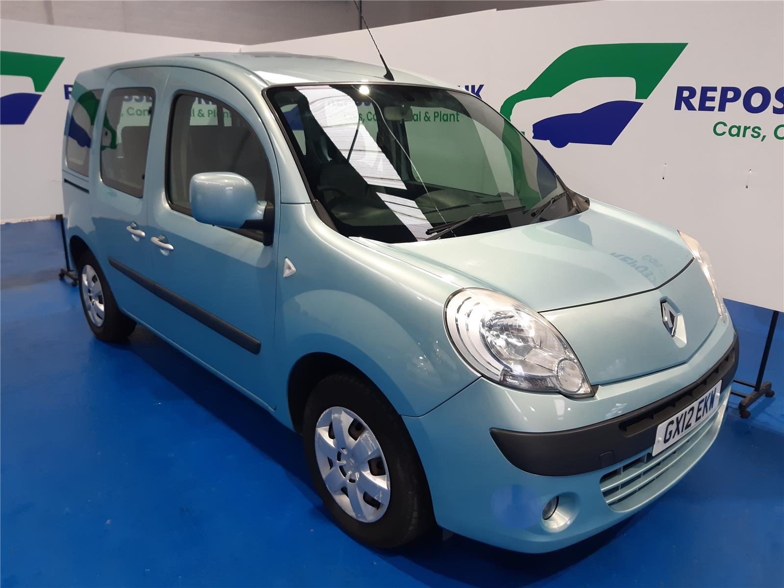 2012 RENAULT KANGOO EXPRESSION 16V 1598 PETROL AUTOMATIC 4 Speed 5 DOOR MPV