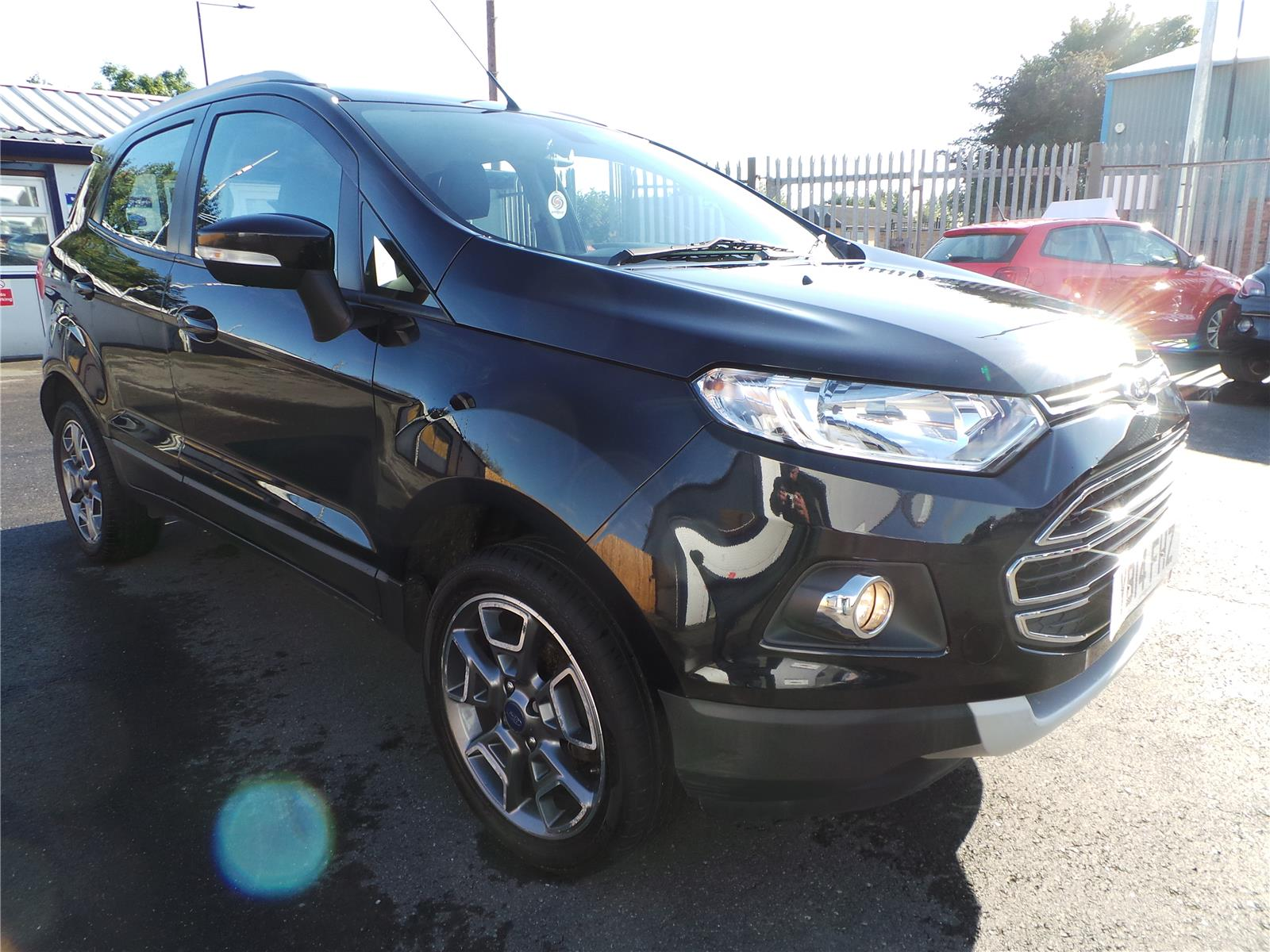 2014 FORD ECOSPORT TITANIUM X-PACK TDCI 1498 DIESEL MANUAL 5 Speed 5 DOOR HATCHBACK