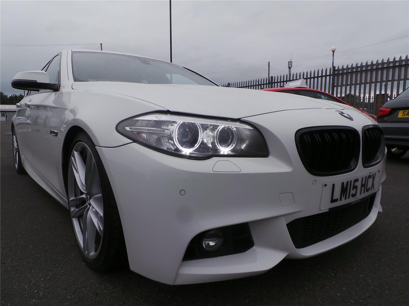 2015 BMW 5 SERIES 530D M SPORT 2993 DIESEL AUTOMATIC  4 DOOR SALOON