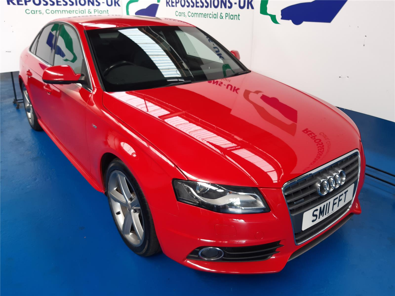2011 AUDI A4 TDI QUATTRO S LINE 1968 DIESEL MANUAL 6 Speed 4 DOOR SALOON