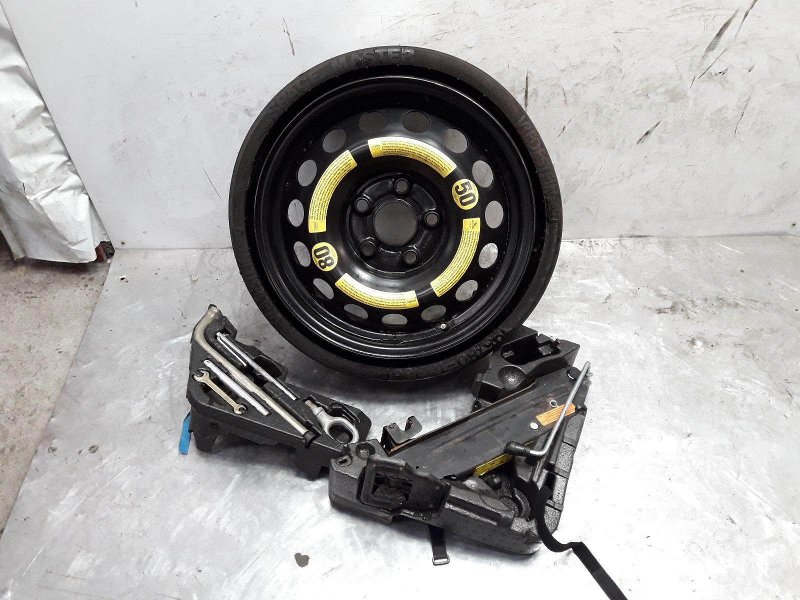 VOLKSWAGEN TOUAREG 17 Inch Spare Wheel & Tyre Space Saver 195/80/17 & JACK KIT