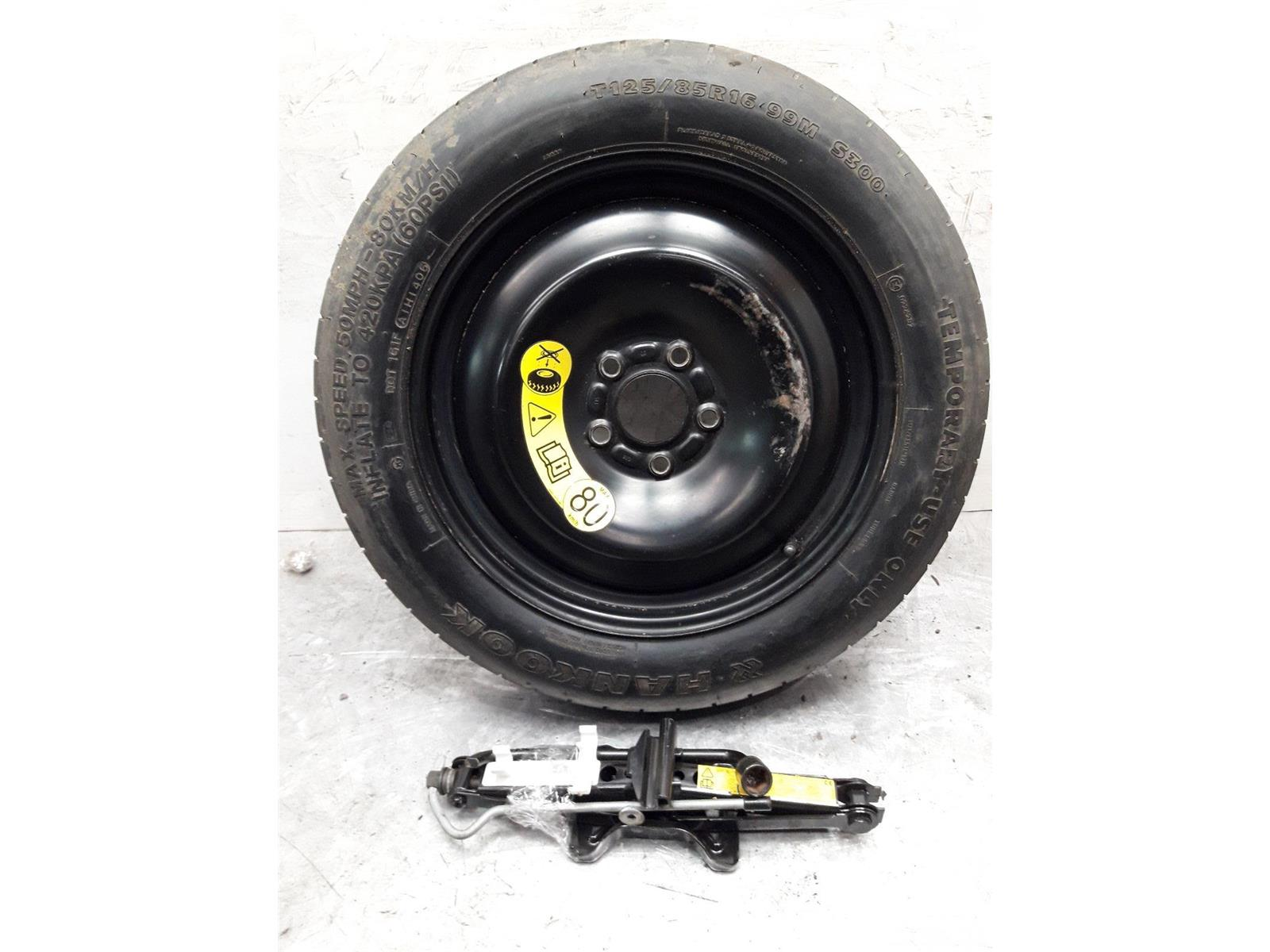 FORD S-MAX 16 Inch Spare Wheel & Tyre Space Saver 125/85/16 + Jack & Brace