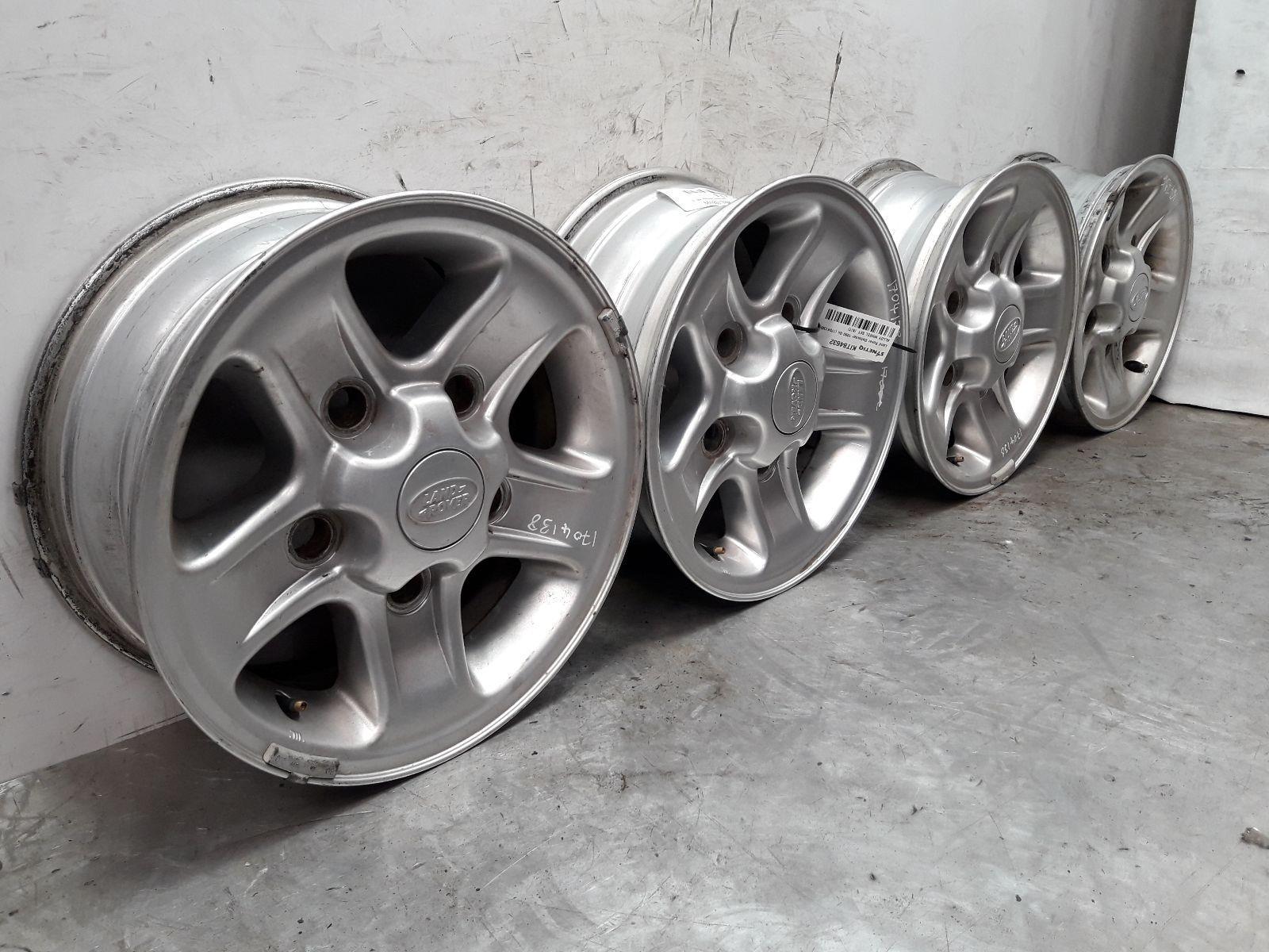 Set Of Genuine 16 Inch LAND ROVER DEFENDER Alloy Wheels Rims 7x16 ET33