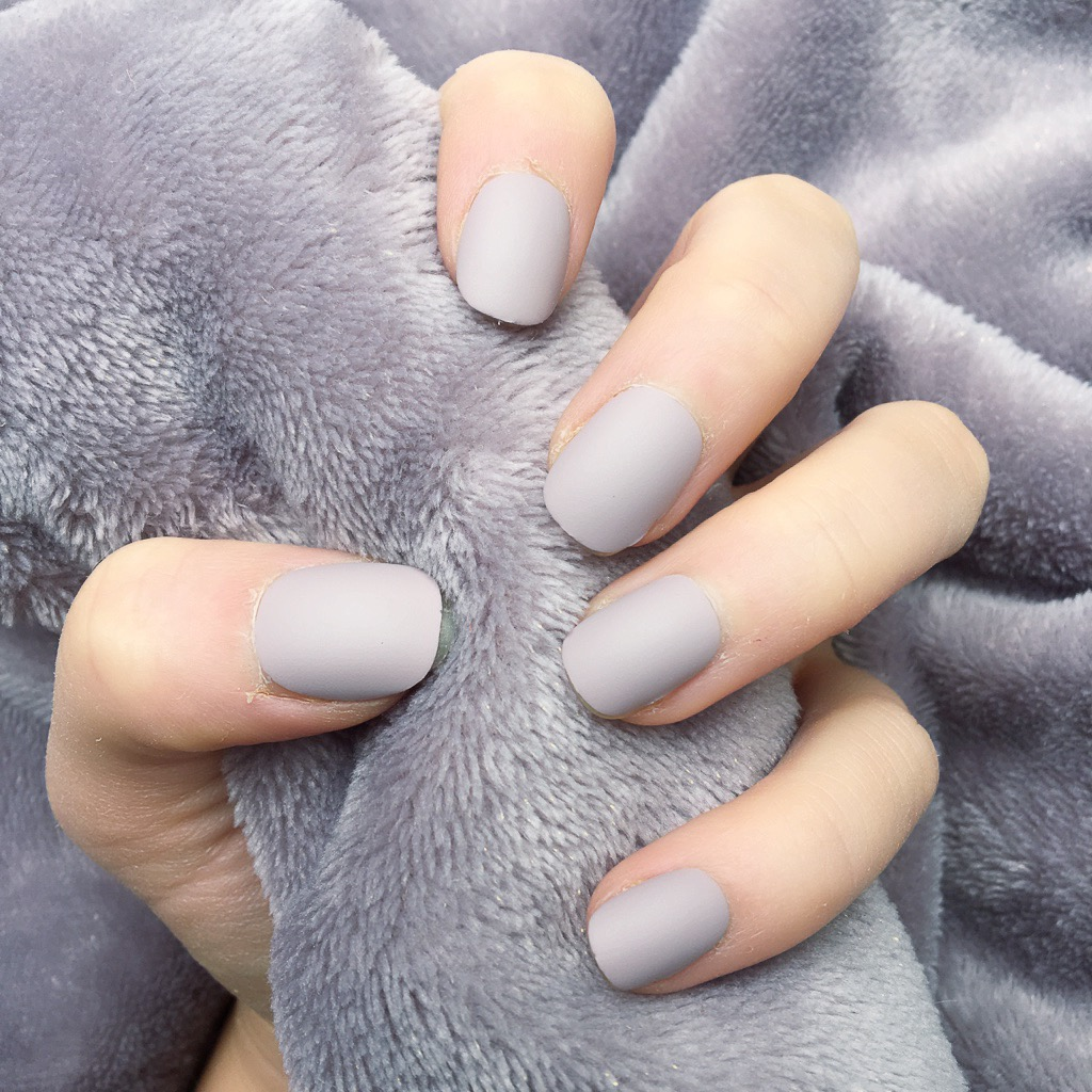 Taupe Matte Nails | Best Nail Designs 2018