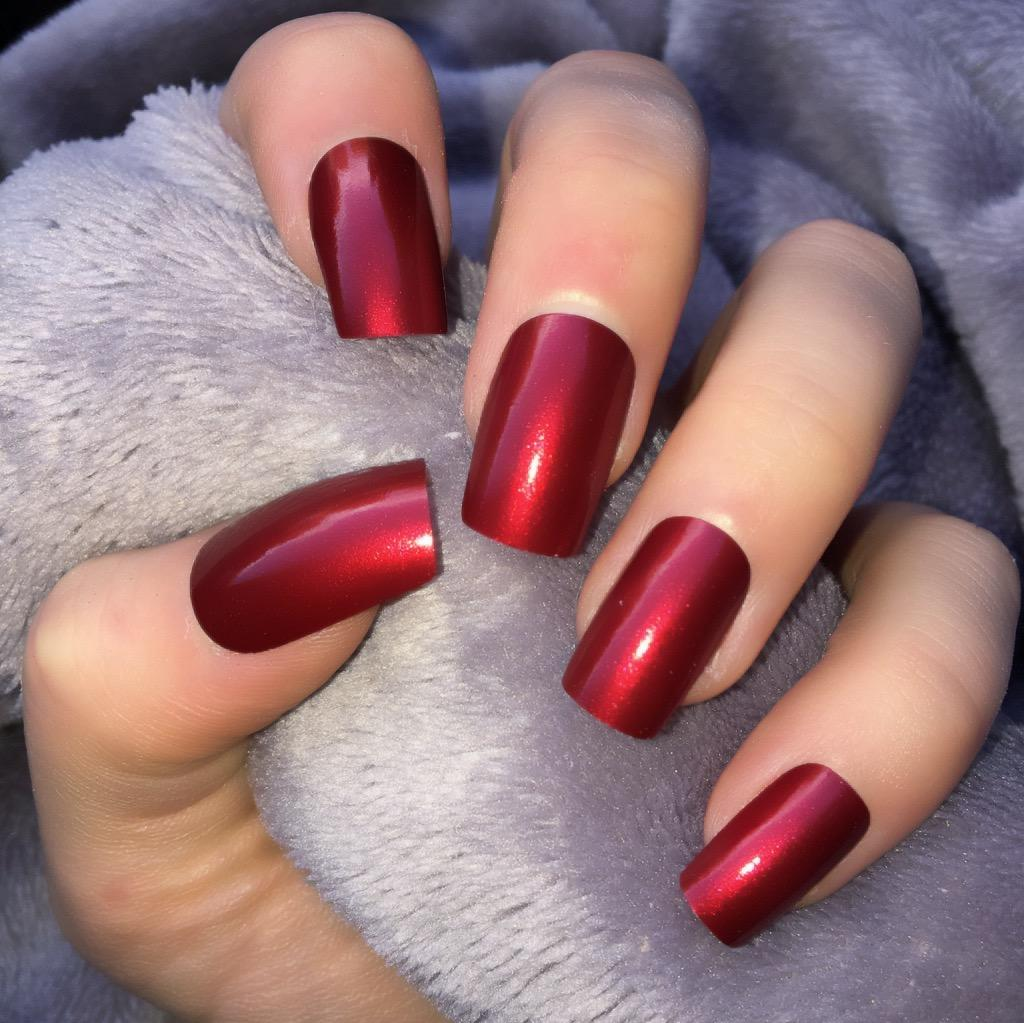 Red Short Nails | Best Nail Designs 2018