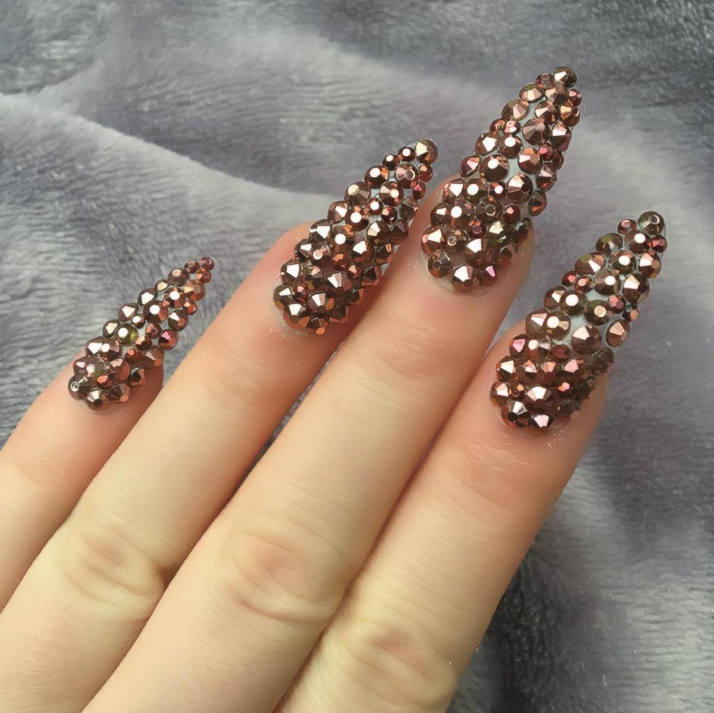 Full Cover Remi Long Stiletto – Doobys Nails