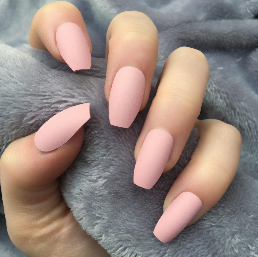 Baby Pink Matte Squaletto