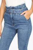 High Waisted Paper Bag Jeans