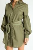 r/196/Puff_Sleeve_Belted_Shirt_Dress_In_Khaki-5__82389.jpg