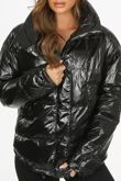 High Shine Padded Puffer Jacket