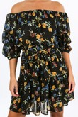 t/521/W1460-_Floral_Chiffon_Off_The_Shoulder_Day_Dress_In_Black_-5__94685.jpg