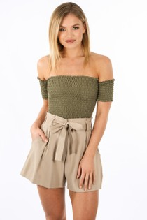 d/552/0126-_Off_The_Shoulder_Shirred_Bardot_Top_In_Khaki-2__35349.jpg