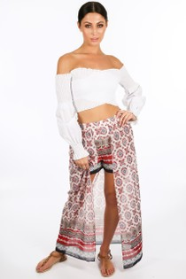 k/635/21387-_Ethnic_Print_Shorts_With_Maxi_Train_In_White__77844.jpg