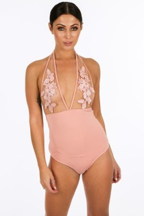 e/269/21733-_-Mesh_Applique_Halter_Neck_Bodysuit_In_Pink__92643.jpg