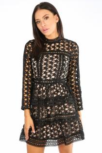 o/893/505323-_Black_Long_Sleeve_Crochet_Contrast_Dress-2__54995.jpg