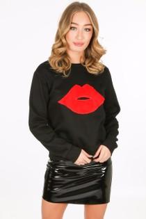 k/284/9232-_Lip_sweatshirt_in_black__19470.jpg