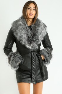j/961/Grey_Faux_Fur_Collar_Belted_Biker_Coat_In_Black-4__93326.jpg