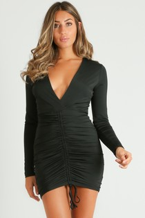 r/074/Plunge_Front_Ruched_Bodycon_Dress_In_Black__89201.jpg