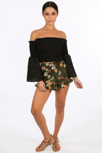 x/703/W026-_Floral_Printed_Frill_Hem_Shorts_In_Green__78387.jpg