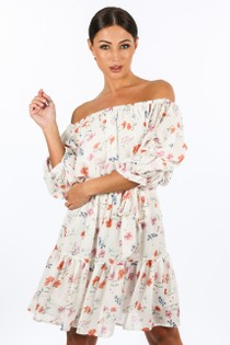 r/660/W1460-_Floral_Chiffon_Off_The_Shoulder_Day_Dress_In_White-2__44780.jpg