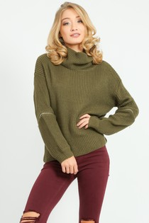 a/957/W5207-_Zip_Knitwear_In_Khaki__98206.jpg