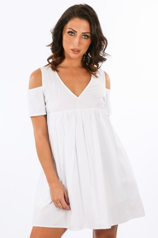 a/528/11616-_-Cold_Shoulder_Oversized_Cotton_Playsuit_With_Dress_Overlay_In_White-2__56721.jpg