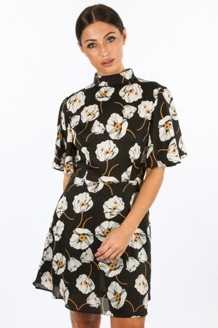 f/968/11772-_High_Neck_Poppy_Print_Dress_In_Black-2__97740.jpg