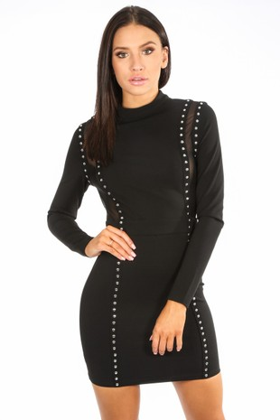 o/273/11802-_Black_Studded_Bodycon_Dress_With_Mesh_Detail-2__85705.jpg