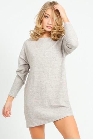 k/147/21832-_Round_Neck_Casual_Fleece_Dress_In_Beige-2__65198.jpg