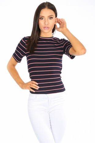 l/231/31003-_Navy_Striped_Ribbed_T-Shirt_With_Tie_Back__21896.jpg