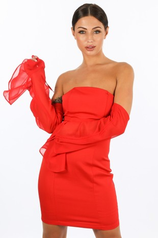 a/571/58611-_Red_Mini_Bandeau_Dress_With_Chiffon_Sleeve-2__88105.jpg
