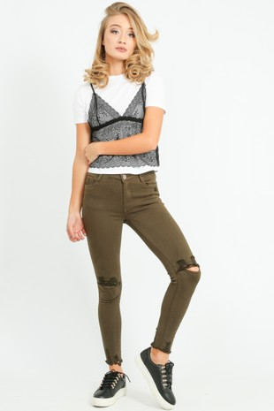 q/374/9003-k-_Ripped_Knee_Cropped_Jeans_With_Distressed_Hem_Khaki__62205.jpg