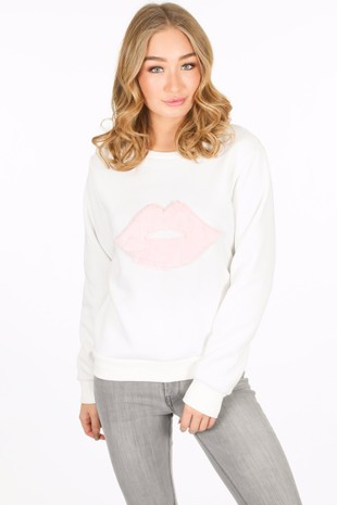 i/514/9232-_Lip_sweatshirt_in_white__91062.jpg