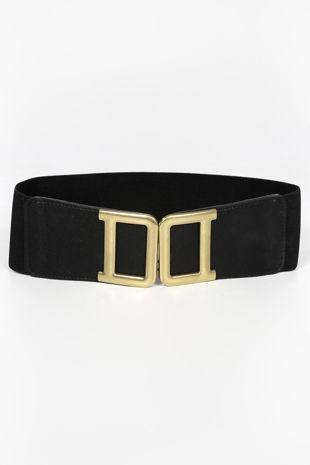 Gold Double D Buckle Waist Belt