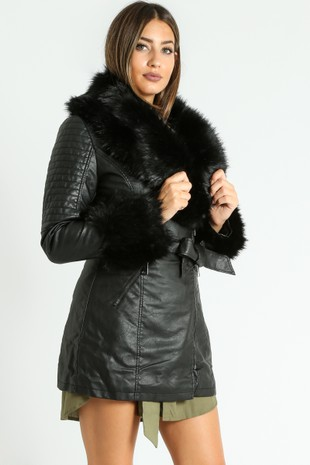 c/568/Black_Faux_Fur_Collar_Belted_Biker_Coat_In_Black-3__01445.jpg