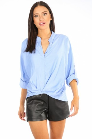 k/333/CY115-_Gathered_Pleat_Blouse_In_Blue-6__38759.jpg