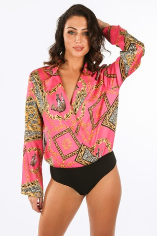 h/444/IT094-_Chain_Animal_Print_Satin_Plunge_Bodysuit_In_Fuchsia__19496.jpg