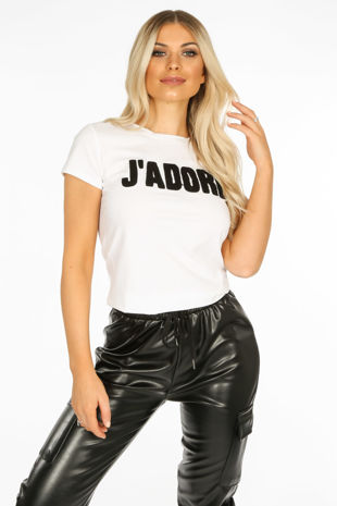 Jadore Slogan T-Shirt
