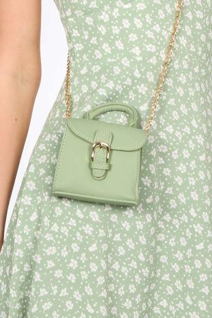 Green Micro Tote Bag