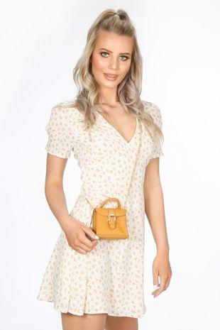 Mustard Micro Tote Bag