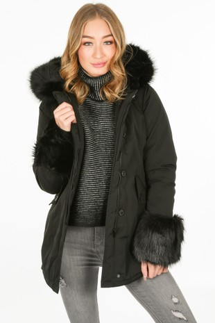 j/098/PK6016-_Fur_cuffed_parka_in_black-2__76754.jpg