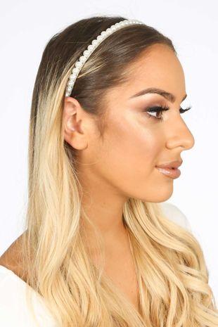 Slim Pearl Headband